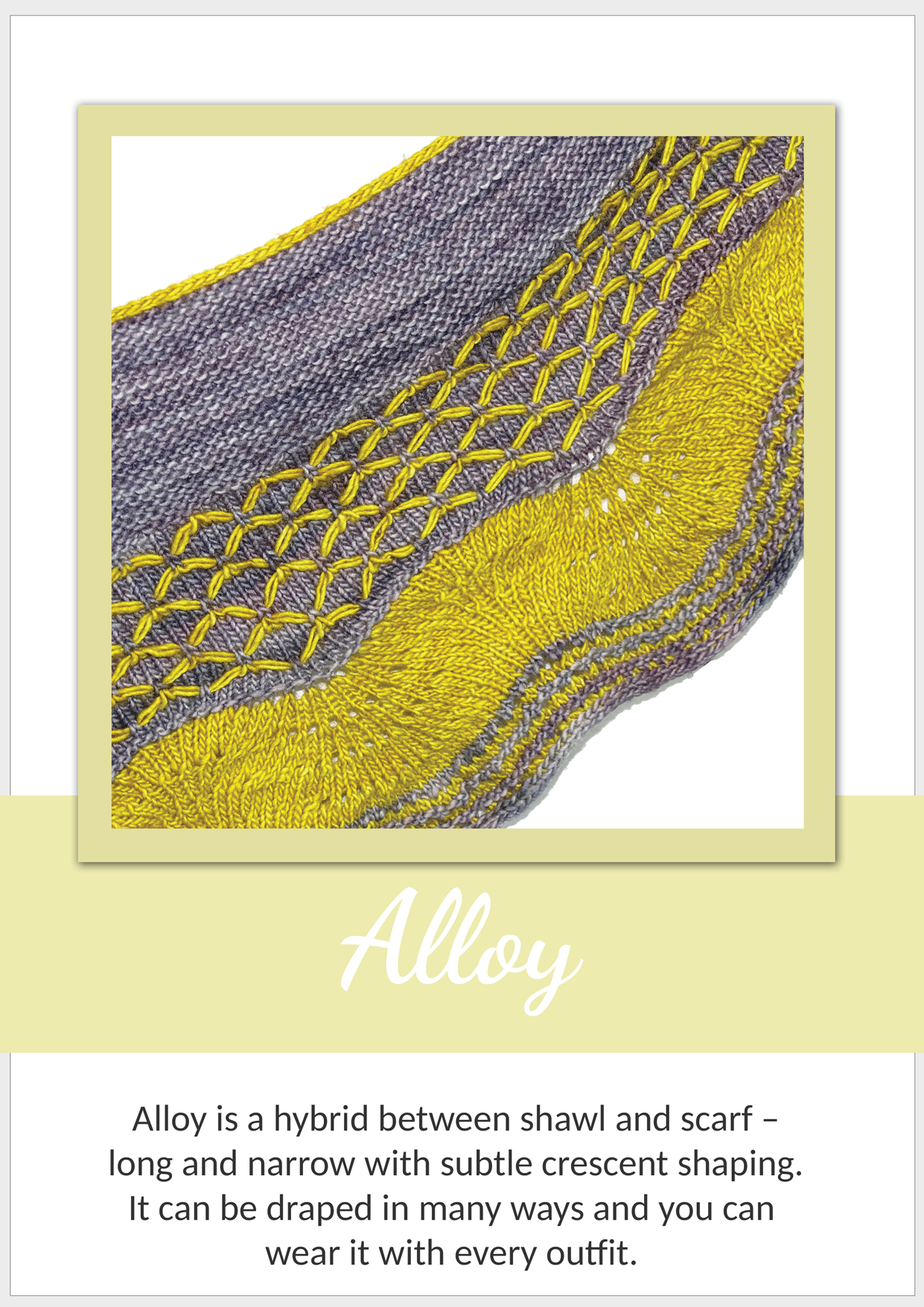 Alloy Shawl