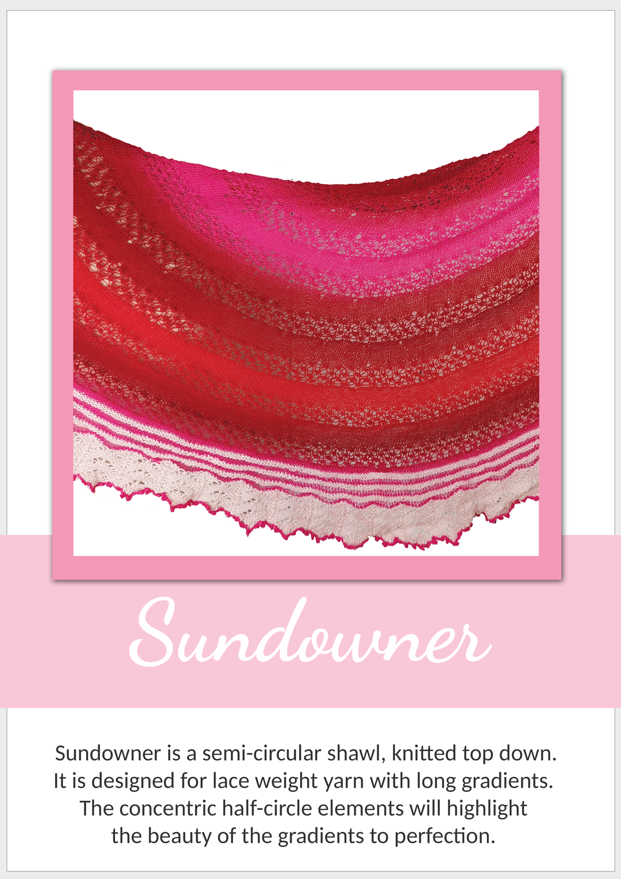 Sundowner Shawl